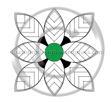 Bee Flower is fully vector designed. The .eps file format allows to modify it in a creative way. It can be easily used for a beautiful tattoo design.